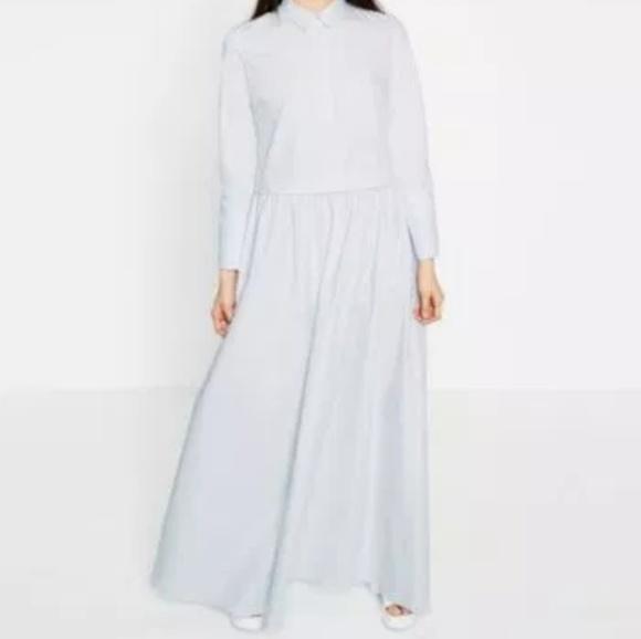 Zara Dresses & Skirts - Zara poplin shirt dress